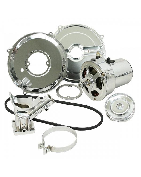 Lichtmaschinen-Umbausatz SSP 70 Ampere Chrom