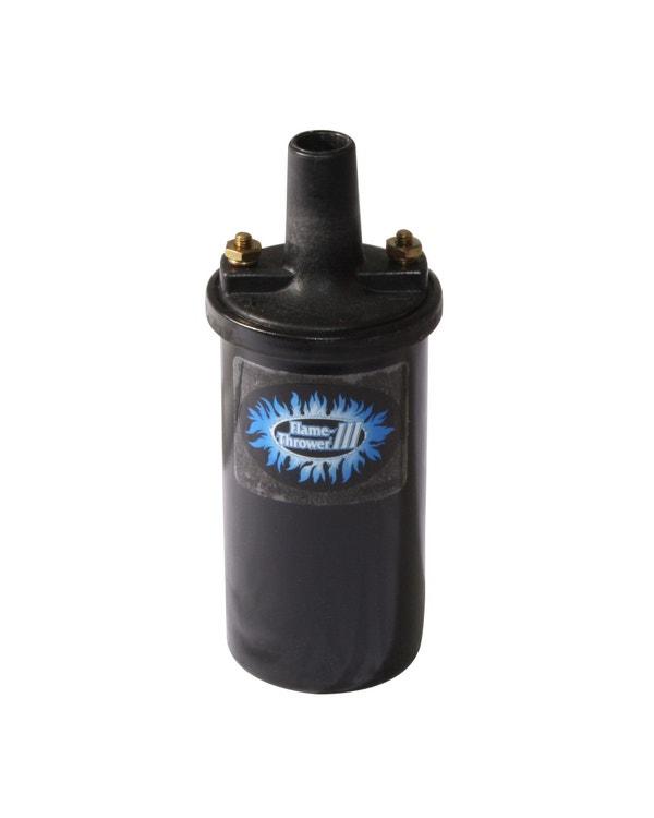 Pertronix Flamethrower Zündspule, 12 Volt, 3, 0,32 Ohm Buchsenanschluss, in schwarz