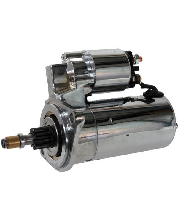Hi-Torque Starter Motor 12 Volt for Manual Gearbox Chrome