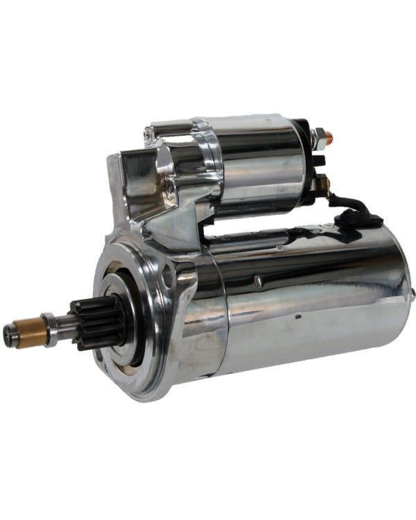 High-Torque-Anlasser 12 Volt für manuelles Getriebe Chrom