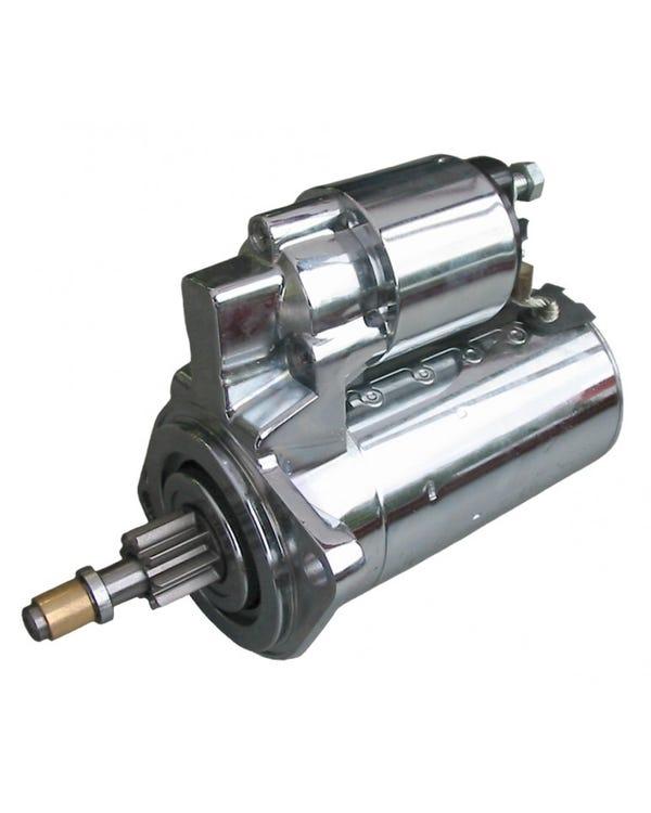 Starter Motor Chrome 12 Volt Manual Gearbox