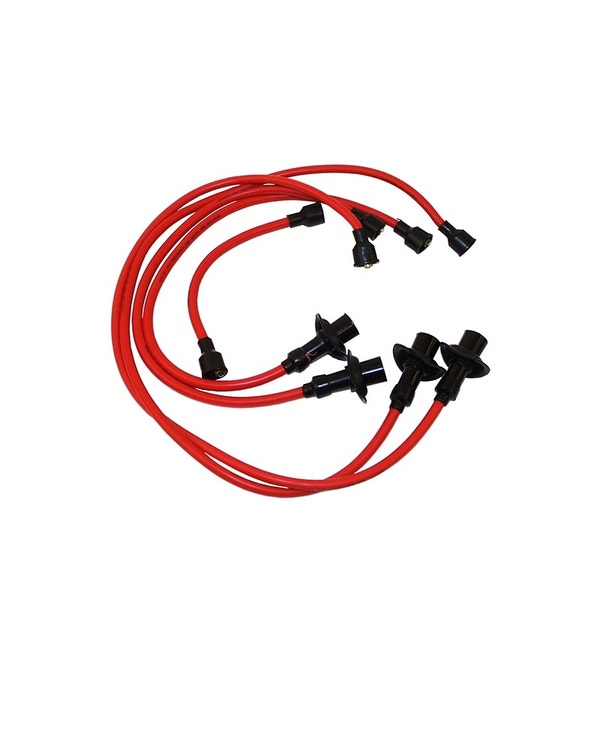 HT Lead Set with Copper Core, Red 1200-1600 Aircooled Engines