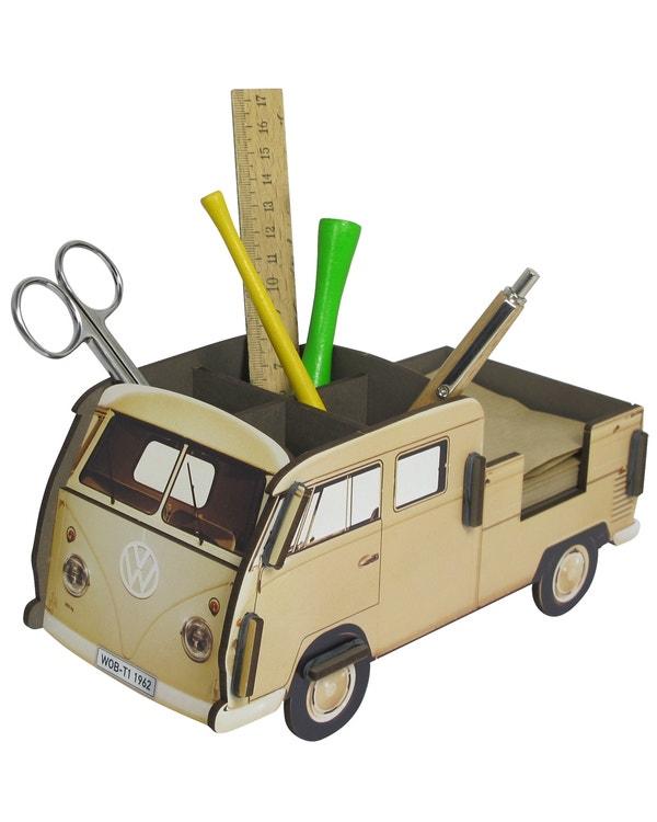 Desk Tidy Pencil Box Splitscreen Van Crew Cab