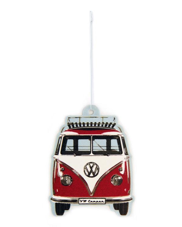 VW Splitscreen Air Freshener in Red and White