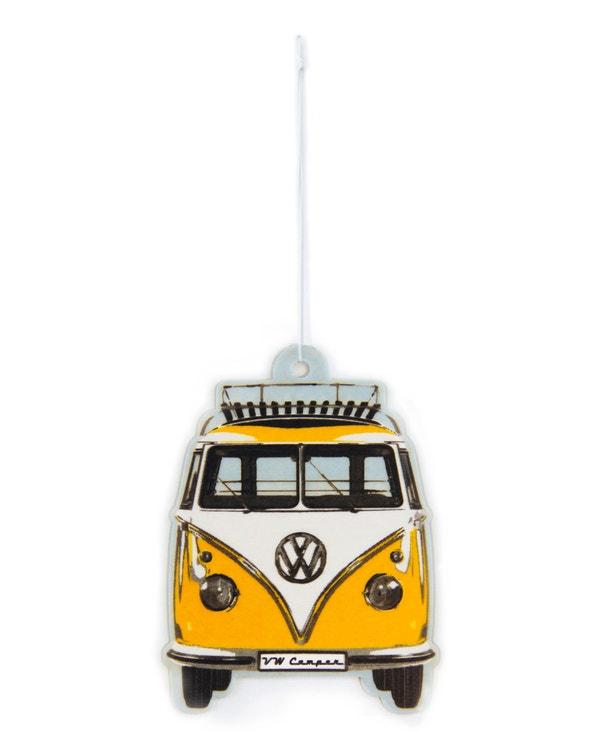 VW Splitscreen Air Freshener in Yellow and White