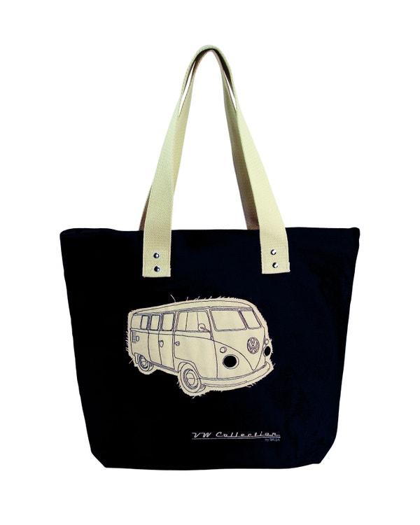 VW Splitscreen Canvas Shopping Bag