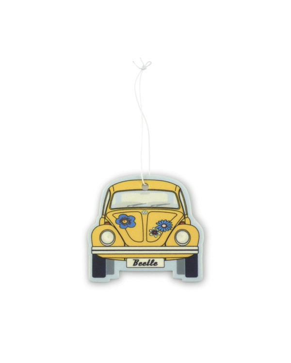VW Beetle Air Freshener in Yellow