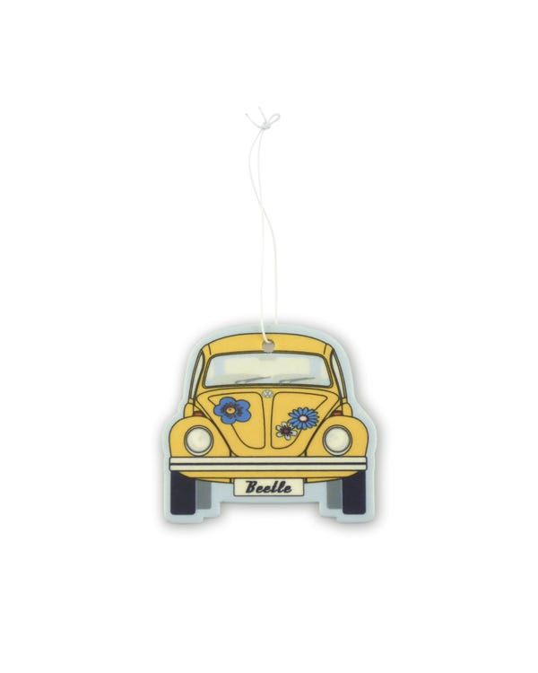 VW Beetle Air Freshener in Yellow