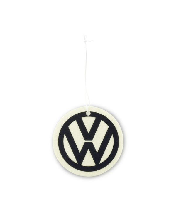 VW Logo Air Freshener in Black and White