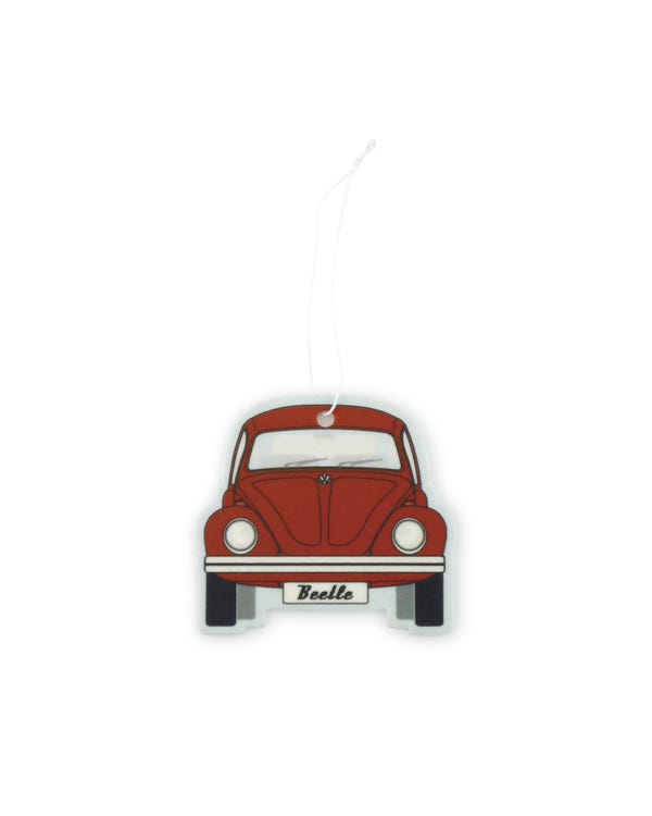 VW Beetle Air Freshener in Red