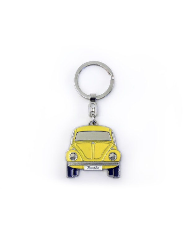 Beetle Keyring in Yellow