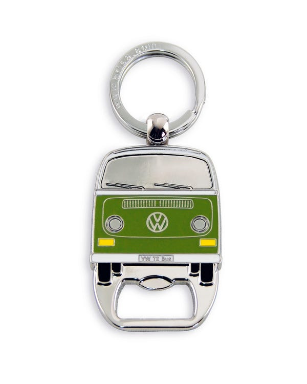 Baywindow Bottle Opener in Green