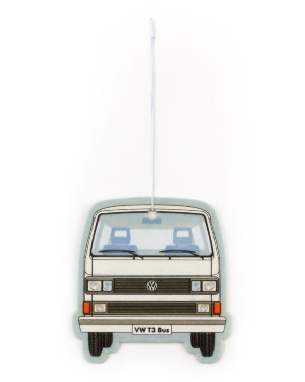 VW T25 Air Freshener in White