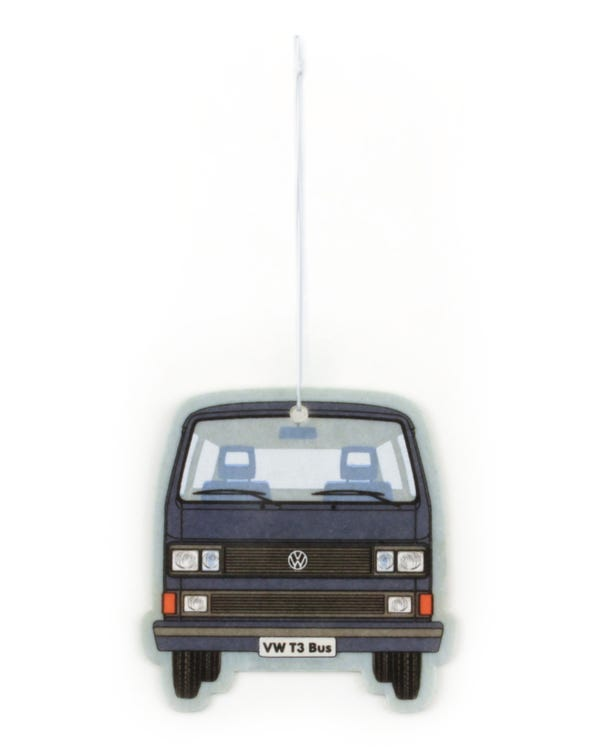 VW T25 Air Freshener in Blue