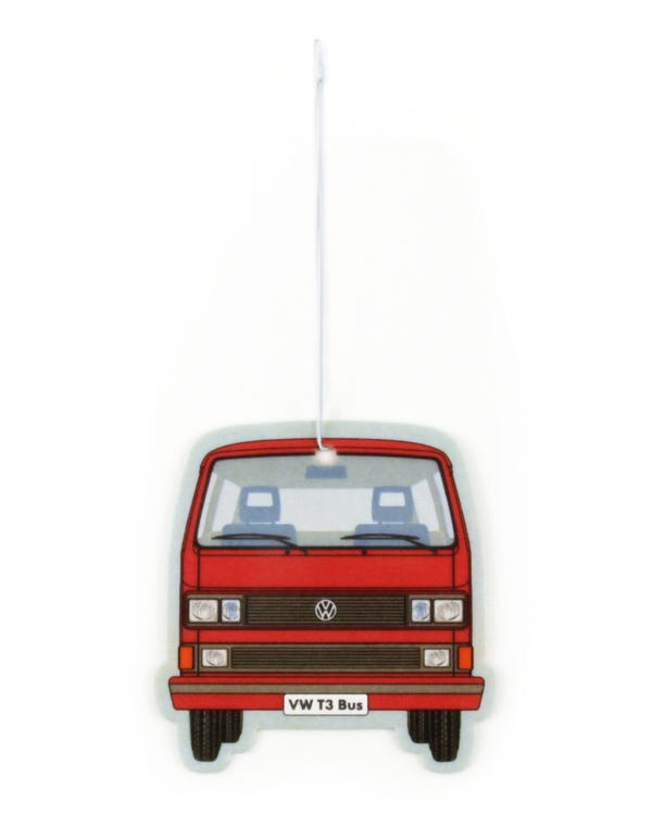 VW T25 Air Freshener in Red