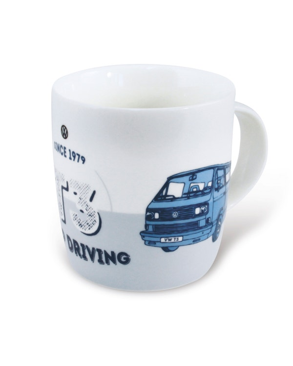 China Coffee Cup with a Blue T25