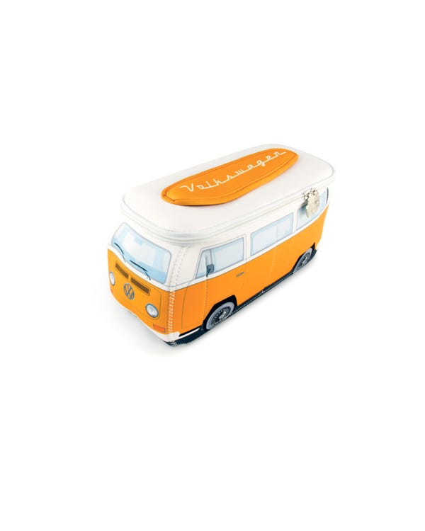 VW Baywindow Neoprene Bag in Orange and White