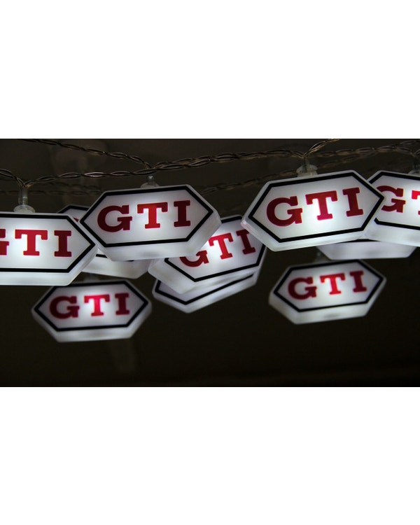 GTI Logo LED String Lights