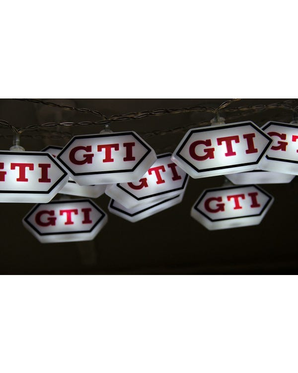 GTI Logo LED String Lights