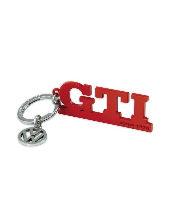 Llavero GTI en rojo