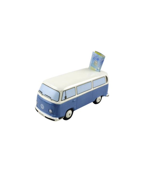 Baywindow Money Saving Box in Blue
