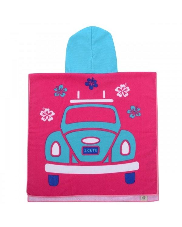 VW Beetle Girls Poncho