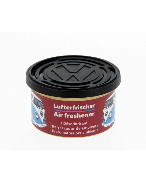 VW Splitscreen Air Freshener in a Tin, Cherry Scent