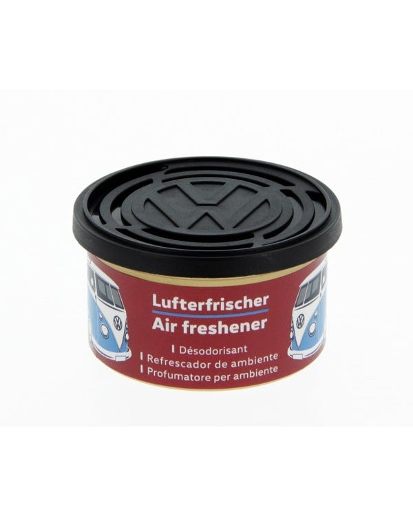 VW Splitscreen Air Freshener in a Tin, Cherry Scent