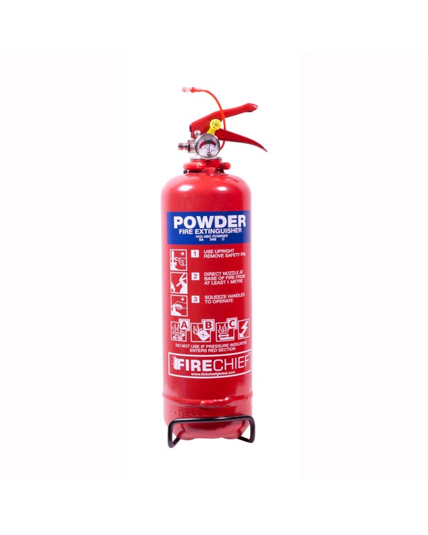 Firechief 1Kg Powder Fire Extinguisher