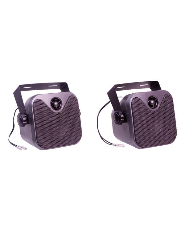RetroSound® 4 Inch Surface Mount Speakers
