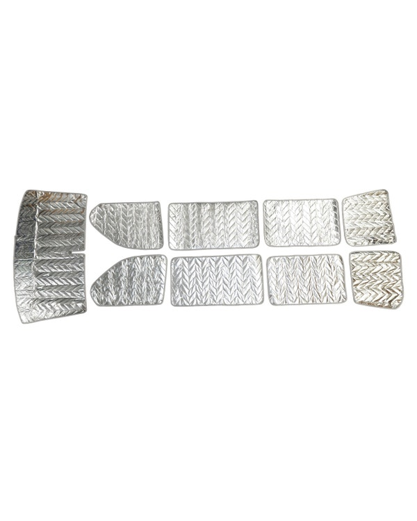 Deluxe Thermo Mat Kit for Long Wheel Base with Barndoors 9 Piece