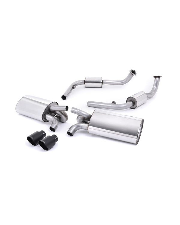 Milltek Sport Cat Back Exhaust System Black Tips