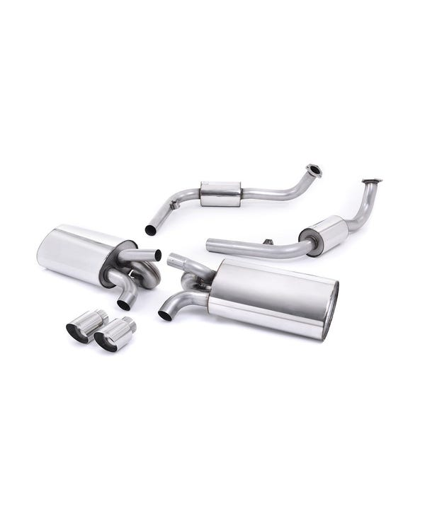 Milltek Sport Cat Back Exhaust System Polished Tips