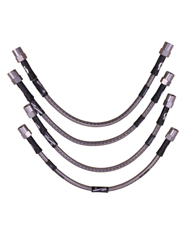 Goodridge Stainless Steel Braided Brake Line Kit