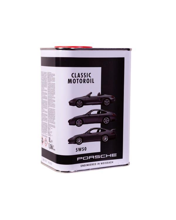 Porsche Classic Motoroil 5W-50 1 Litre