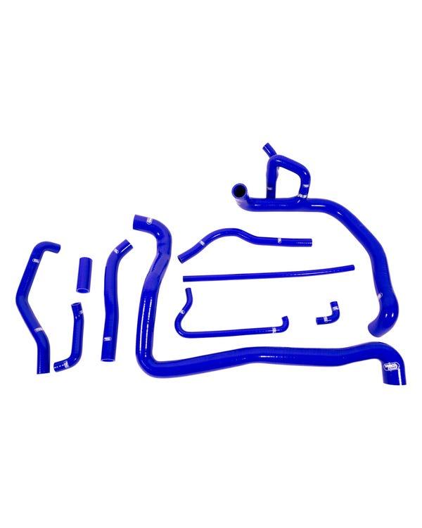 Kit manguitos de refrigerante Samco. 1.9 TDI ABL. Azul