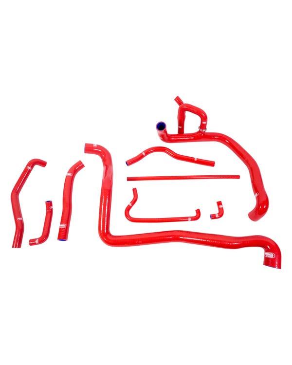 Samco Complete Coolant Hose Kit Red 1.9 TDI ABL