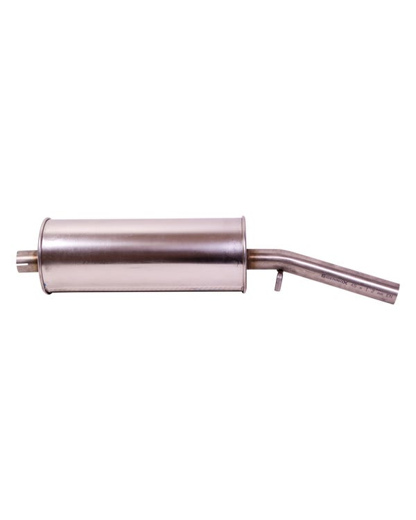 Rear Stainless Steel Exhaust Silencer for 1.6 GTI