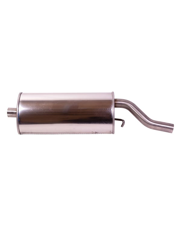 Rear Stainless Steel Exhaust Silencer for 1.8 GTI