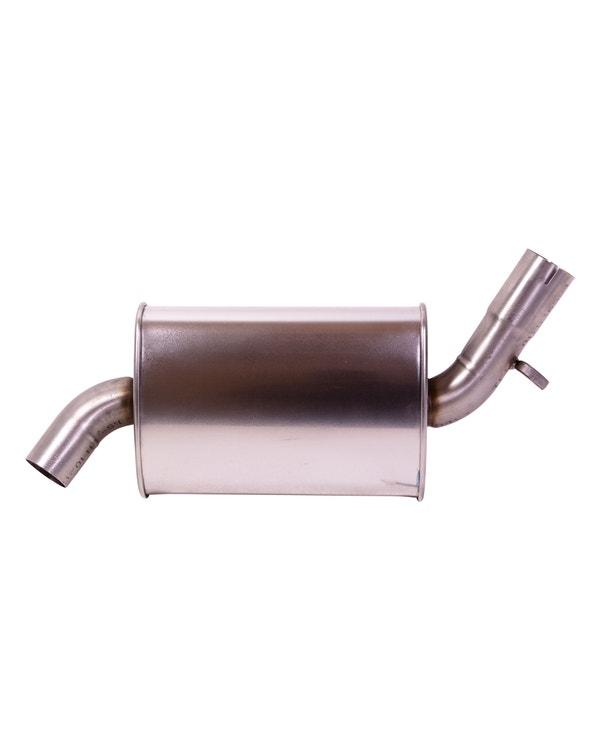 Centre Stainless Steel Exhaust Silencer for GTI 16V