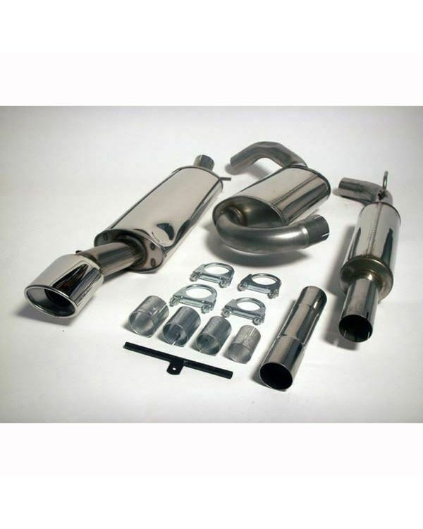 Jetex Stainless Steel Exhaust System, Resonated