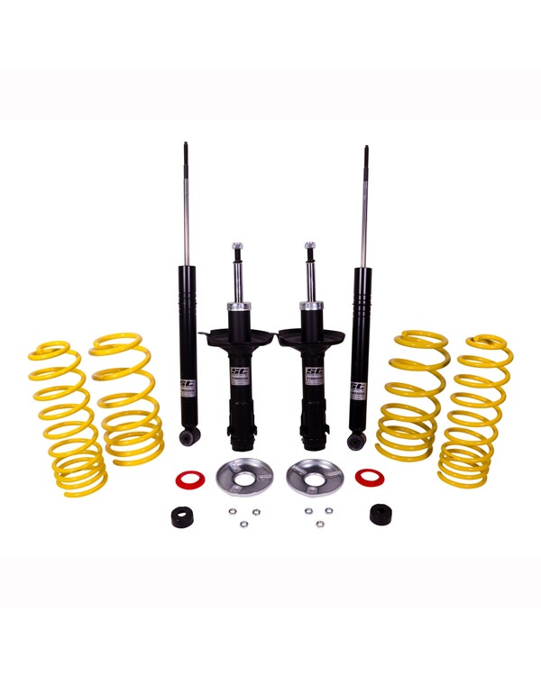 KW ST Shock Absorber And Spring Kit Lowers by -60mm