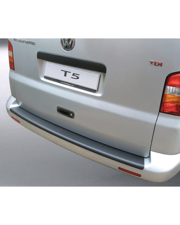Brushed Alloy Look ABS Plastic Rear Bumper Protector for non Painted Bumpers