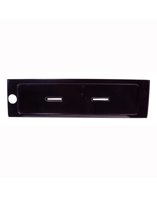 Rear Number Plate Holder Euro Style Black