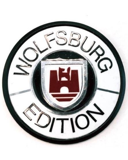 Badge - White Wolfsburg Edition 45mm