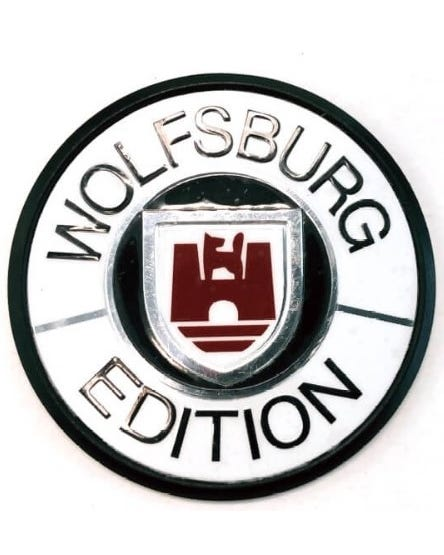 Anagrama blanco Wolfsburg edition 45mm