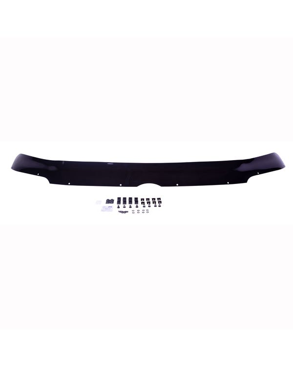 Bonnet Stone Deflector Protector, Dark Black Acrylic, Pre Face-Lift T5