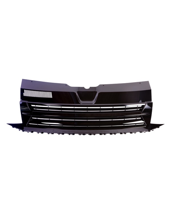 Front Grille, Badgeless, Gloss Black