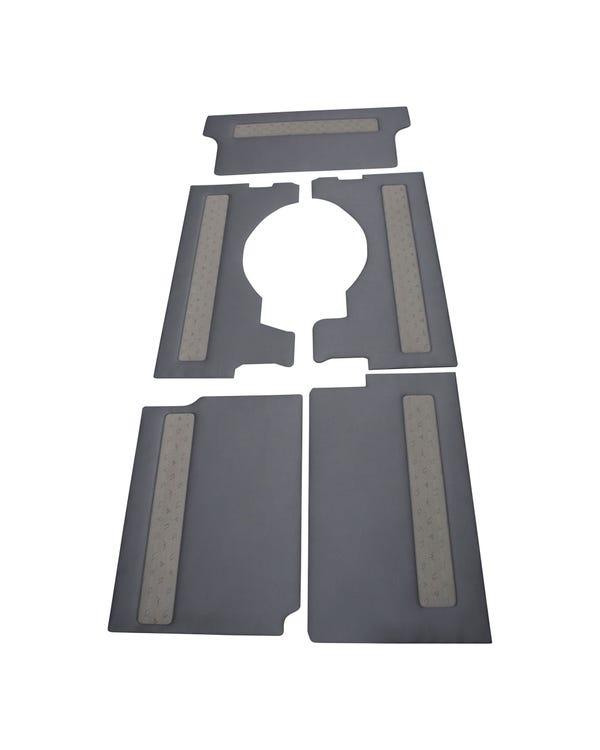 Embellecedor interior para modelos con el volante a la izquierda, distancia entre ejes larga, puerta corredera en el lado izquierdo y portón trasero