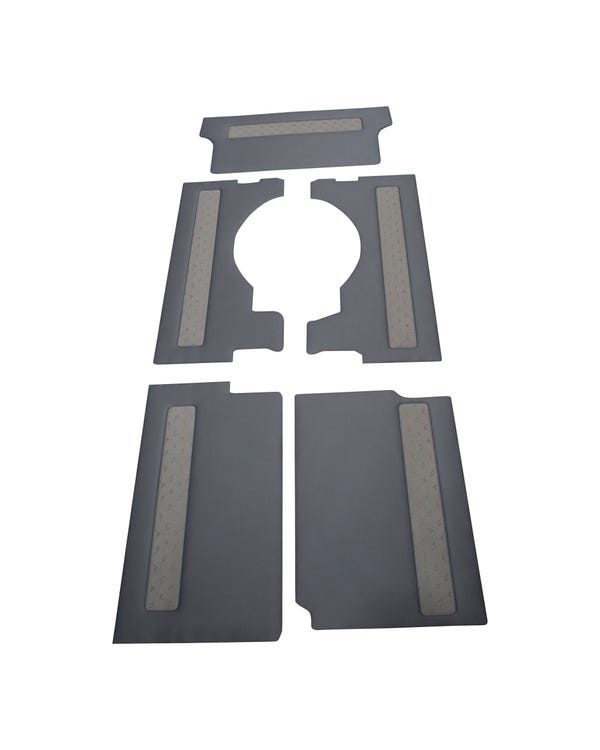 Grey Fabric Interior Trim Kit for Right Hand Drive Long Wheel Base Tailgate Model